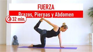 Fuerza de brazos, piernas y abdomen