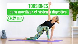 Torsiones para movilizar el sistema digestivo