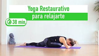 Yoga restaurativo relajante