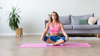 Empezar a practicar yoga en casa