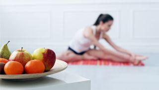 Que comer antes de una clase de yoga